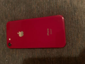 Like new RED iPhone 8.  Unlocked