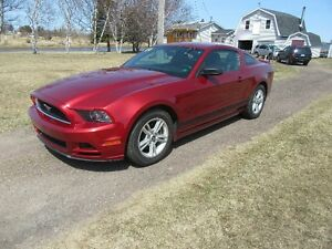 2014 Ford Mustang PONY Coupe 3.7  L  6 SPEED  MANUAL