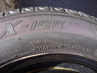 Michelin X-ICE 2 winter tires