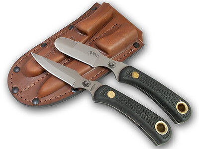 Knives of Alaska Muskrat Cub Bear Combo Hunting Suregrip Deer Cub 2 Knife 95FG Alaska Cub Bear Knife