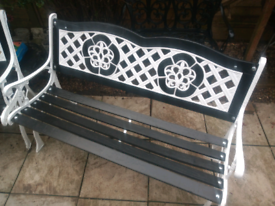 Beautiful Solid Cast Iron Bench