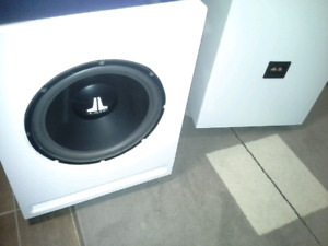 """2 × Jl audio w6 15"""" custom built to spec home theater subs"""
