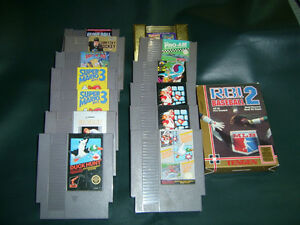 NES Games For Sale At Nearly New Port Hope