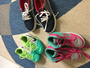 Girls shoes - DC and Nike and brand new Etnnies