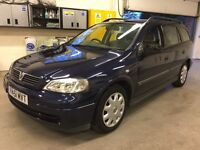 Astra 1.6 auto low miles very clean car