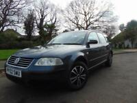 LOVELY DIESEL 2002 VOLKSWAGEN PASSAT 1.9TDI PD S ESTATE DRIVES BEAUTIFULLY