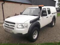 Ford Ranger 2.5TDCi ( 143PS ) 4x4 Double Cab, Storry 4x4