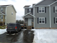 Semi detached, dieppe,available April 1st, I pay deposit (1200$)