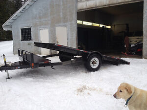 PRICE REDUCED SLED/QUAD EQUIPMENT TRAILER 2007 DOUBLE A