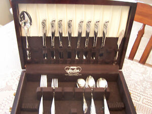 51 Pacific Silver Cloth - STELING SILVER - box set - CUTLEY