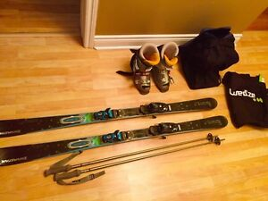 Pack ski dynastar  women 160 / boots size 8 + 2 bags