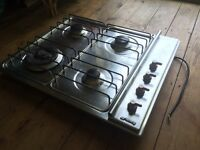 Smeg 4 Burner 60cm Gas Hob in Stainless Steel - Model: SER34AX1 (CAN DELIVER & INSTALL)