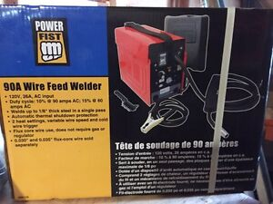 Wire feed welder- Brand new never used