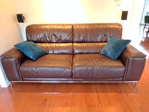 Sofa Mobilia, brun chocolat