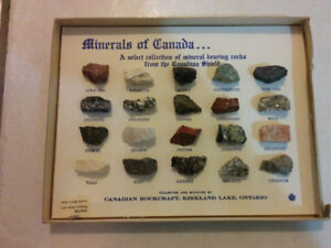 Canadian Shield Mineral Rock Collection