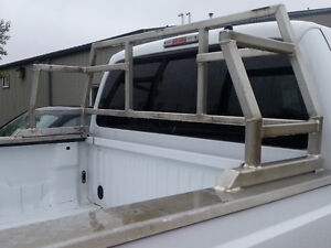 Aluminum Headache Rack (Ford Super Duty Long Box) - Great Shape