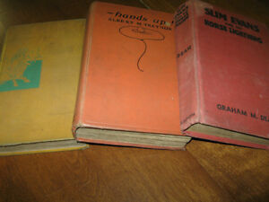 ...Three Very Interesting Old Books..[1936][1934][1928]...