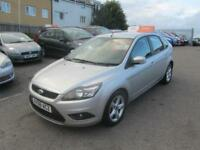 2008 Ford Focus Hatch 5Dr 1.6 100 Zetec Petrol silver Manual
