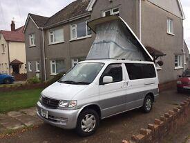 02 Plate Mazda Bongo camper conversion £7000
