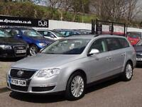 2010 VOLKSWAGEN PASSAT 2.0 TDI CR HIGHLINE DSG 5DR AUTOMATIC ESTATE