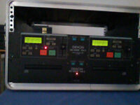 Dennon DK2000F MKII CD - DJ System Fully working but relatively poor cosmetic condition
