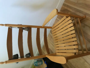 Wooden Roching Chair for sale