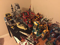 Lots of Legos, About 45 sets large and small