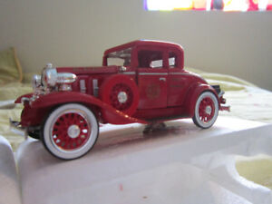 cast Iron truck and cars