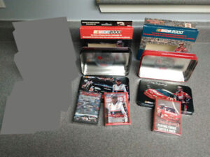 2 Nascar 2000 Tin + Playing Cards Dale Earnhardt. Jr.