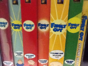 FAMILY GUY DVD Box Sets $10 each