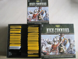High Command hordes board game deck building card game