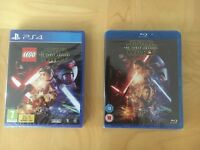 Star Wars the force awakens bluray and ps4 game
