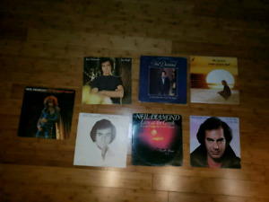 Collection de 7 disques Vinyles de Neil Diamond