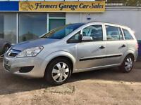 Vauxhall/Opel Zafira 2.2i 16v Direct Life 66,593 Miles In Silver