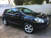 Nissan 2009 Qashqai Acenta dCi 1.5 Diesel Manual Hatch in Black