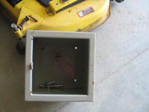 SAFE LOCK UP BOX BOLT TO CONCRETE FLOOR BE SAFE WHEN YOUR NOT T Peterborough Peterborough Area image 3