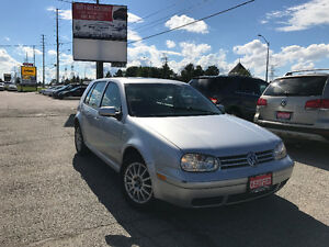 2004 Volkswagen Golf GLS TDI, Accident Free, 3 Years Warranty