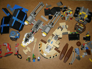 Lego Ensembles, Pièces en Vrac, Minifigurines, Boites, Plans,...