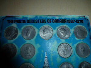 The Prime Ministers of Canada Commemorative Medallion Set London Ontario image 4