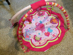 Girl Baby Play Mat