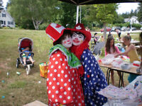 Face Painting Clowns Balloons