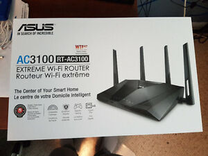 Like New Asus AC3100 (RT-AC3100) Home Router Cambridge Kitchener Area image 2