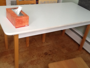 childcare work table and chair set