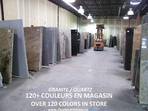 Comptoir Marbre Granite Quartz Laval Montreal ChezQuebecCuisines