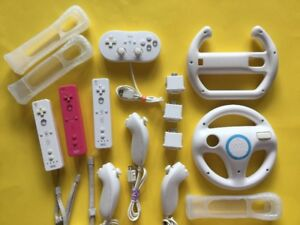 Modules Motion Plus, Manettes Wii, Volants..