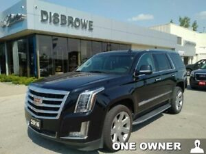 2016 Cadillac Escalade Luxury  Loaded!!! 4x4, Local. One Owner