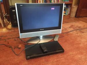 TV and DVD player -- Télé et lecteur DVD