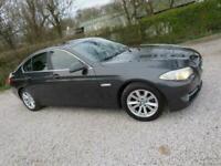 2011 61 BMW 520D SE + 6 SPD + FULL BLACK LEATHER + FSH + HEAT SEATS +