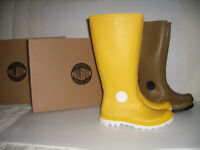 """"" PALLADIUM """" ----- NEW rain BOOTS ------ sizes 8 US and 9 US"