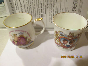 2 cups -very collectable--ROYAL FAMILY